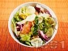 Рецепта Зимна салата с краставица и грейпфрут